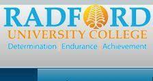 Radford University College Cut Off Points