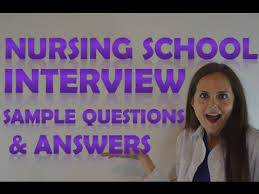Nursing Training College Interview Questions and Answers